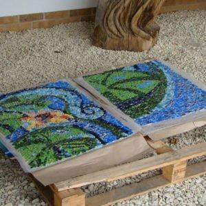 gotowe kawałki mozaiki